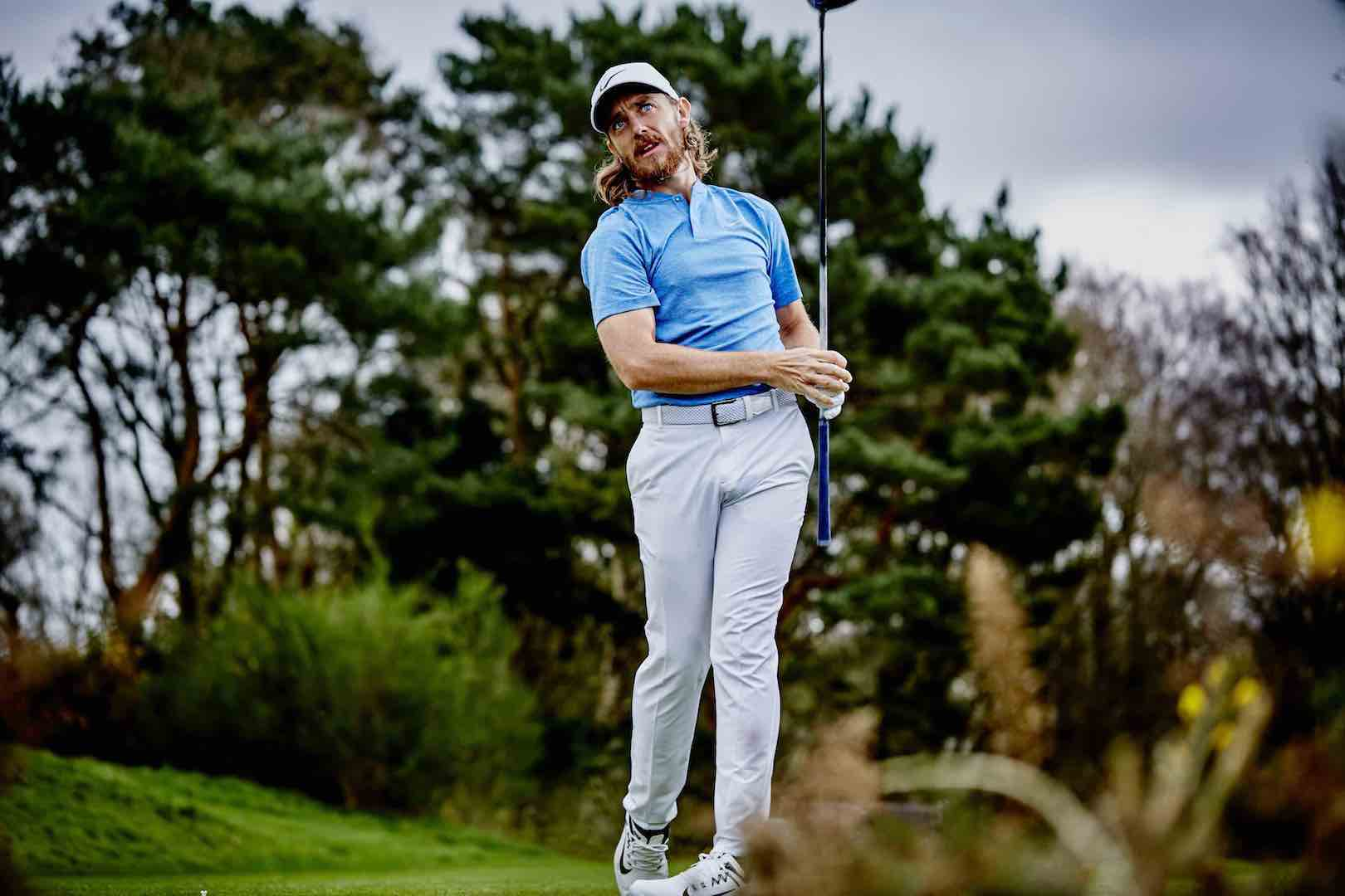 Tommy Fleetwood styles it out with TrendyGolf