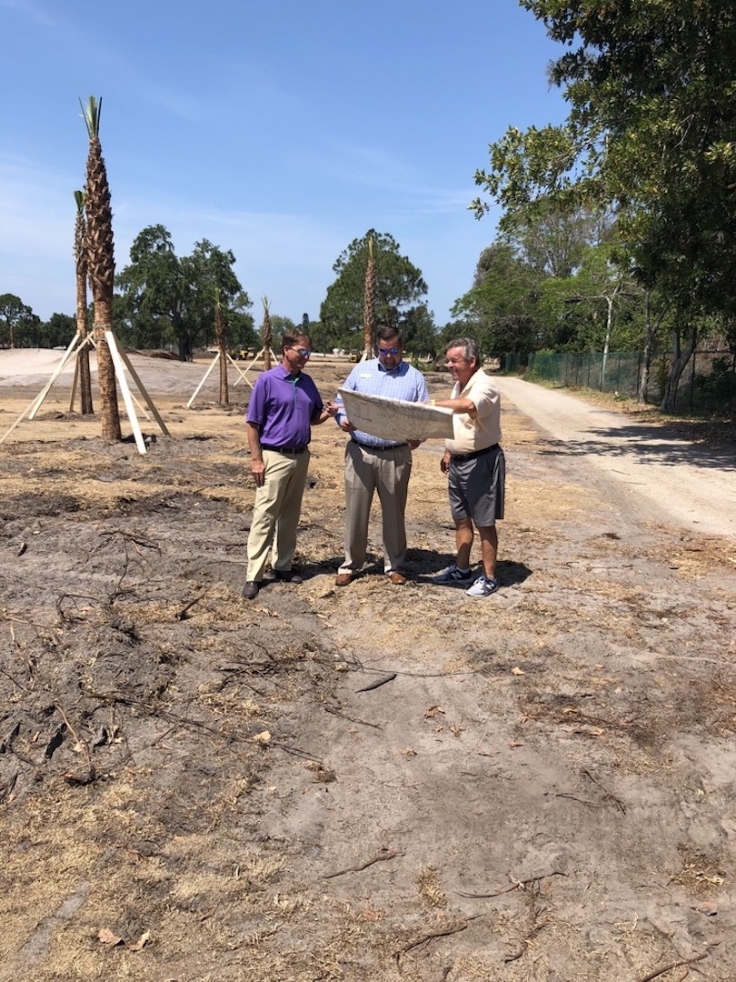 Tony Jacklin begins restoration of Florida's Bradenton Country Club  gold course