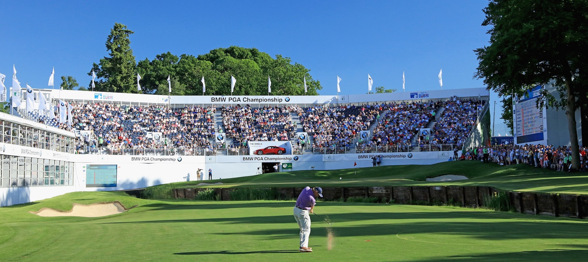 BMW PGA Championship Day 3 tee times and pairings