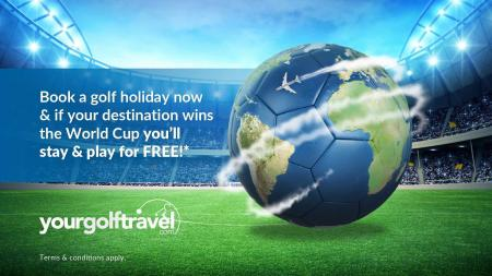 Your Golf Travel launch 2018 World Cup promotion