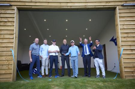 Luke Donald officially opens Mizuno's new Tour Performance Studio
