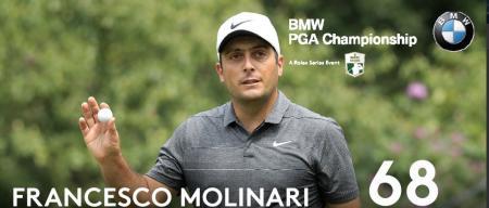Francesco Molinari holds off Rory McIlroy to win BMW PGA Championship