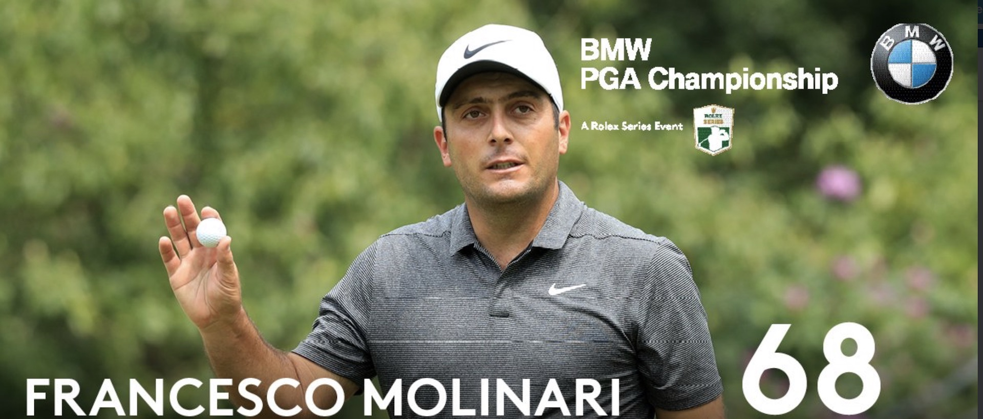 Francesco Molinari holds off Rory McIlroy to win BMW PGA Championship