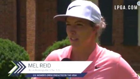 Melissa Reid off to a great start at US Open