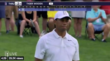 Tiger Woods bounces back at Memorial