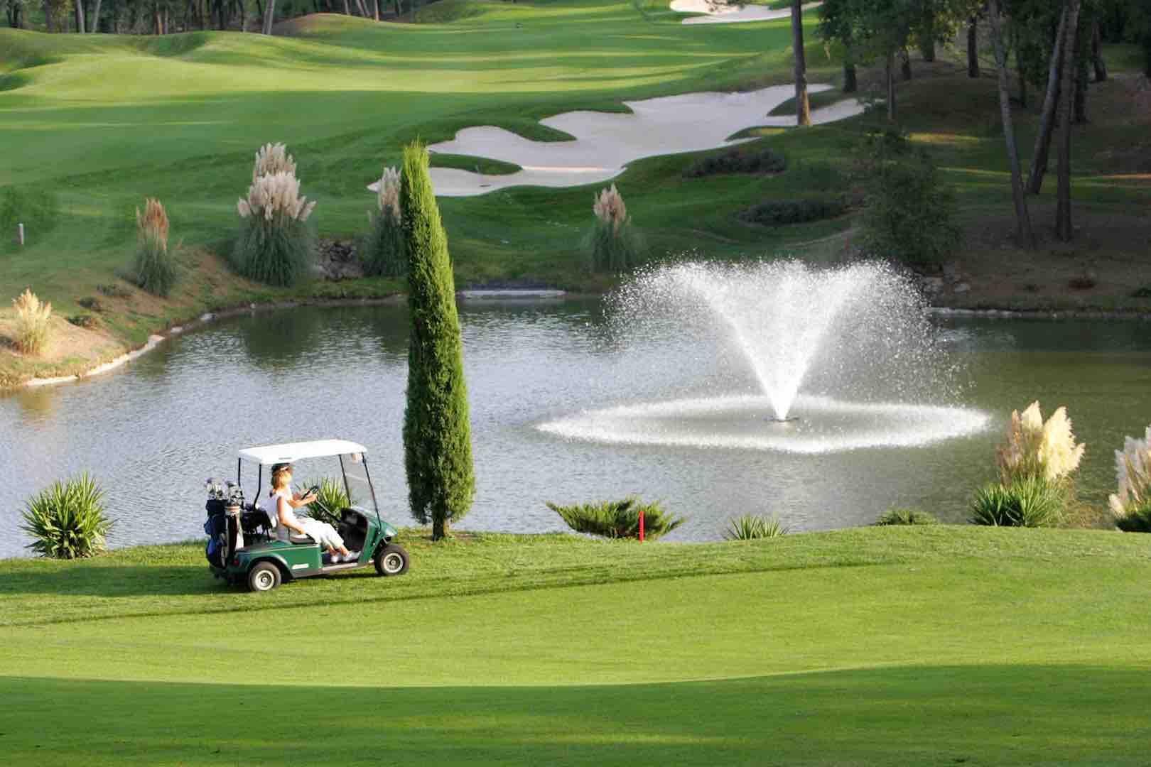Golf course upgrade enhances royal experience at Mougins