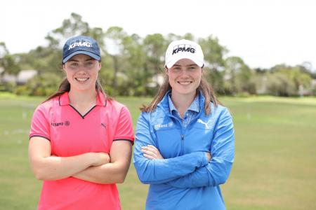 LEONA & LISA MAGUIRE SIGN DEALS WITH PUMA GOLF