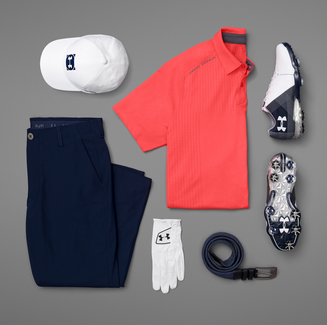 Jordan Spieth's Under Armour scripting