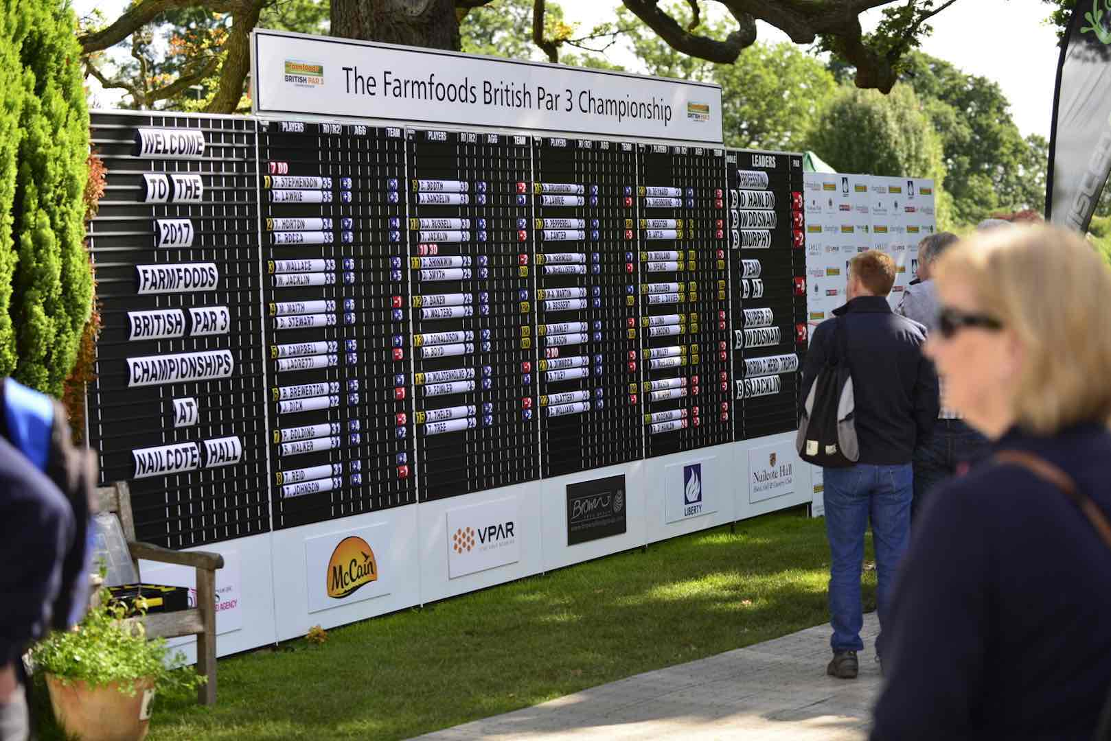 Farmfoods British Par 3 Championship to support next generation of golfing stars