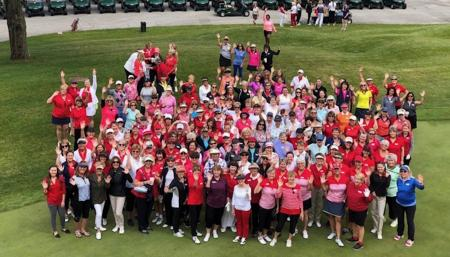 Women and girls golf is showcased around the world