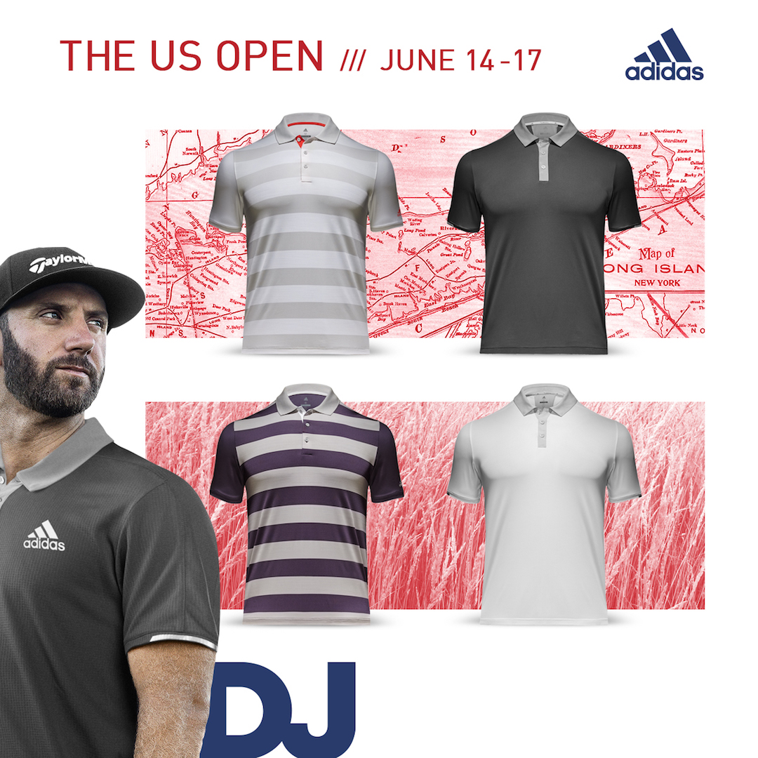 adidas polos for the 118th US Open