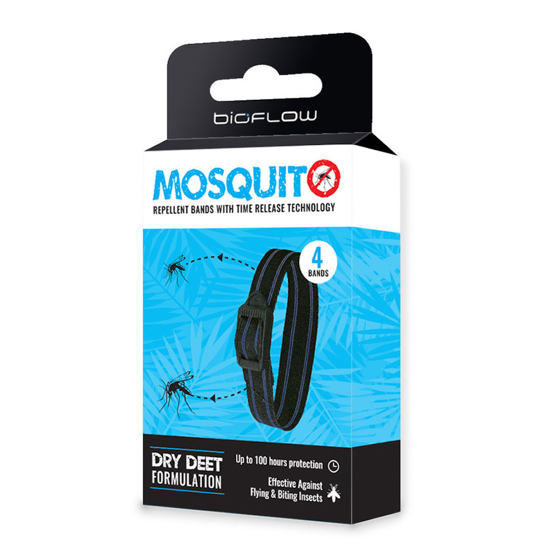 Bioflow mosquito repellent bands provide protection for golfers