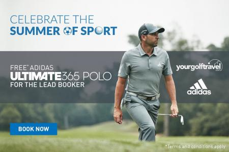 Your Golf Travel Teams up with adidas