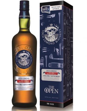 Loch Lomond Whiskies swings into The Open partnership