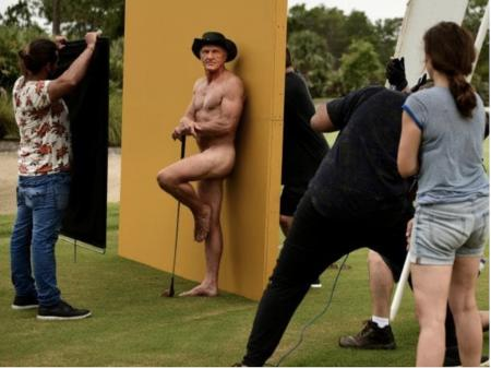Greg Norman bares his all for ESPN Body Issue