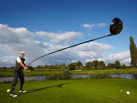Mental!  World's Longest Golf Club