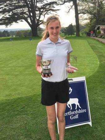 Chiara stars as Sandy Lodge girls top the table