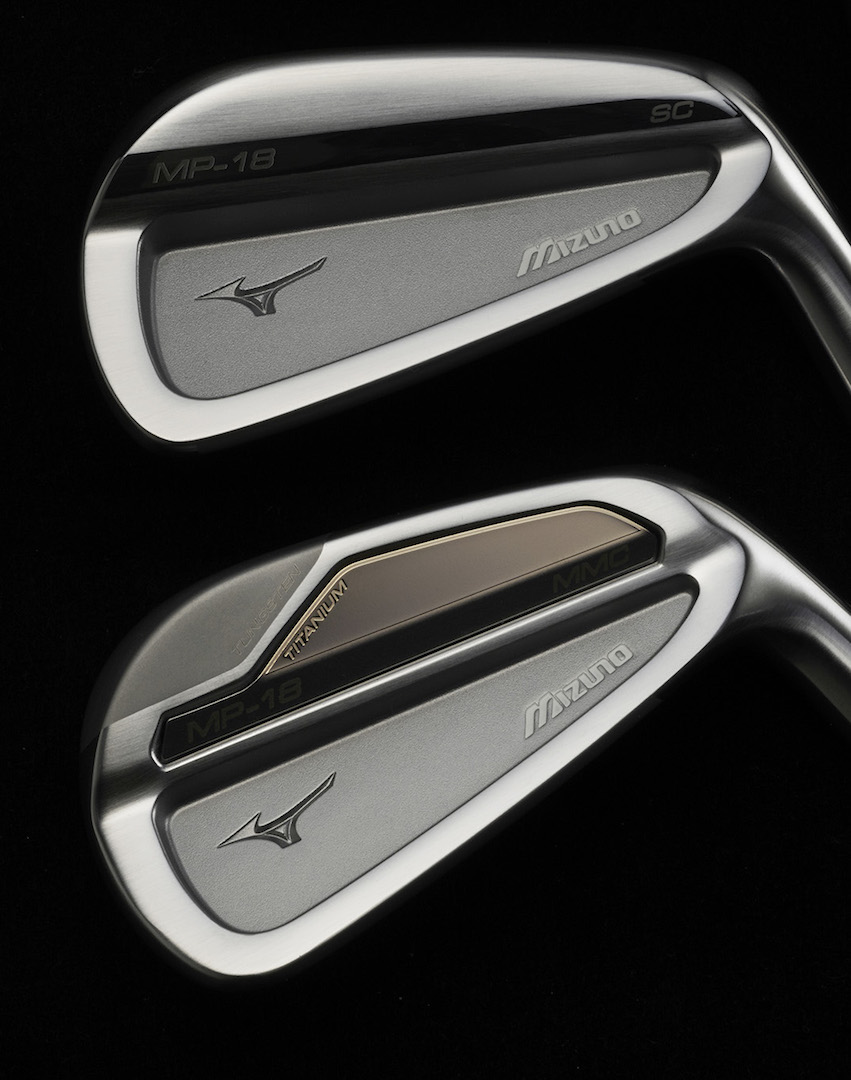 Mizuno MP-18 irons claim two top spots