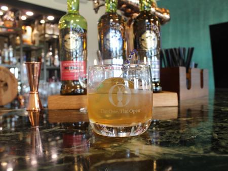Loch Lomond Whiskies launch lovely Open cocktail