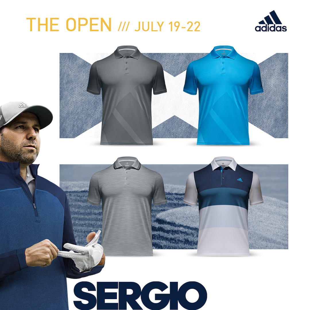 adidas Golf reveal 147th Open apparel
