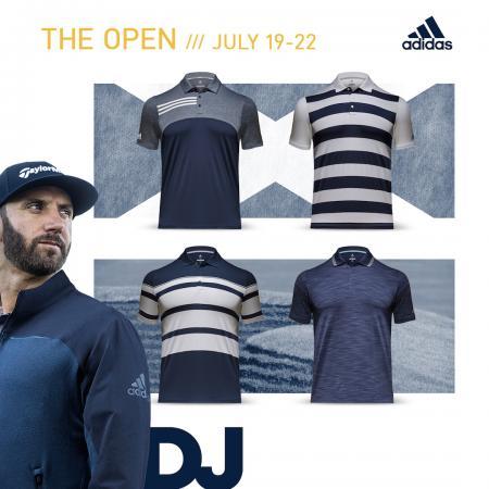 adidas Golf reveal 147th Open apparel