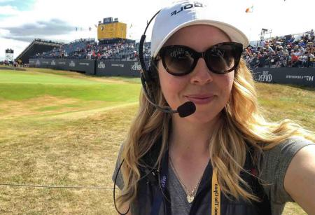 Ball spotting at the 147th Open Championship