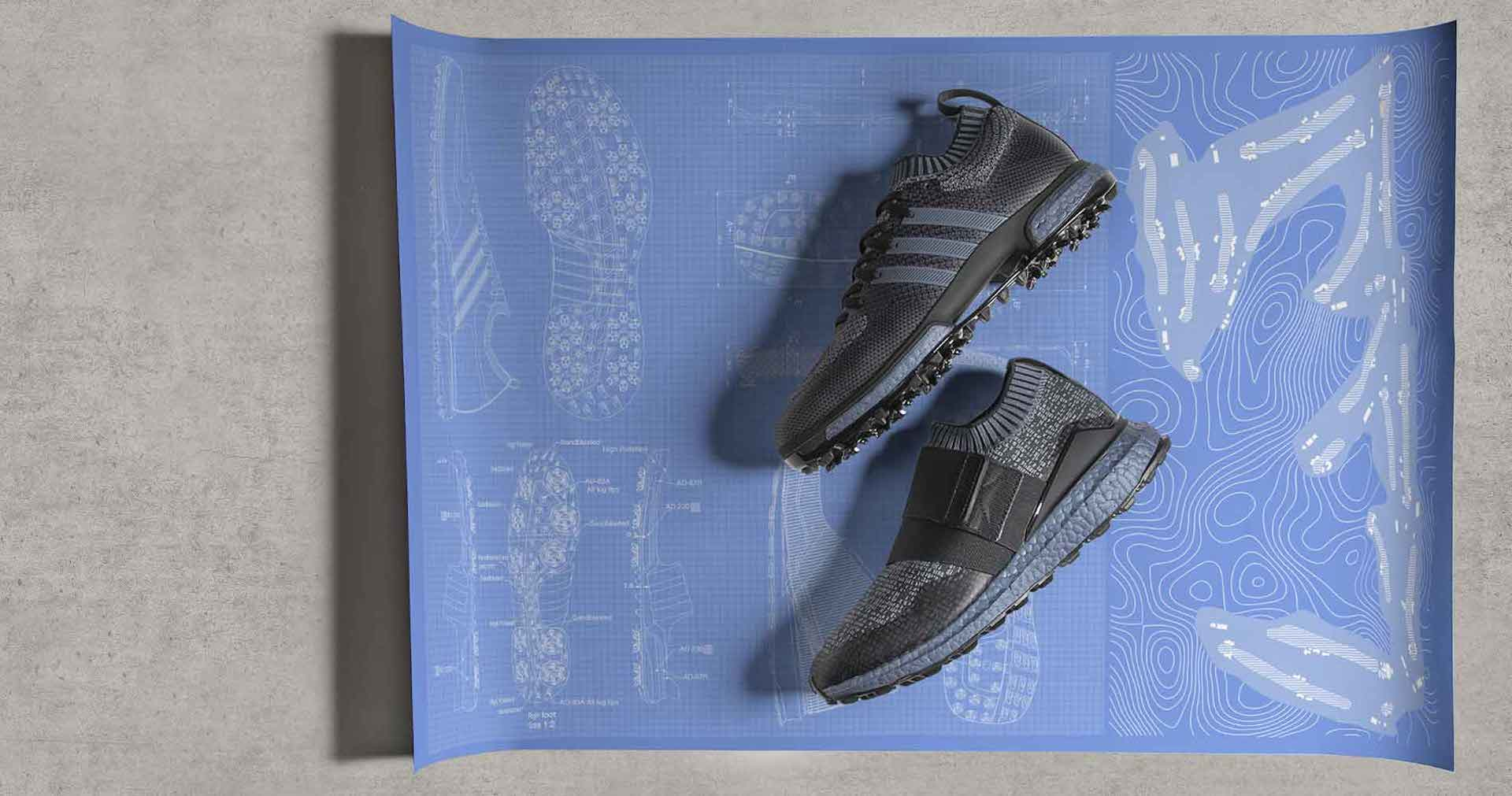 adidas Golf launch limited edition blue BOOST colourway