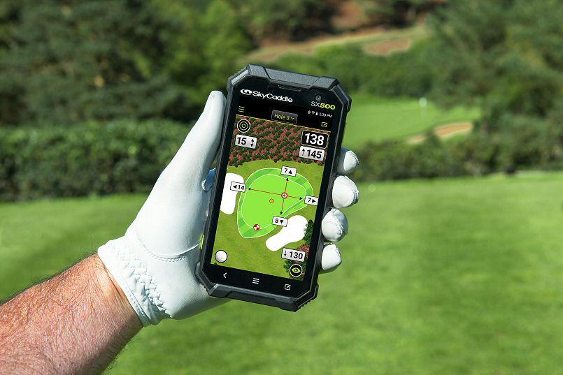 SkyCaddie SX500 is golf's ultimate GPS