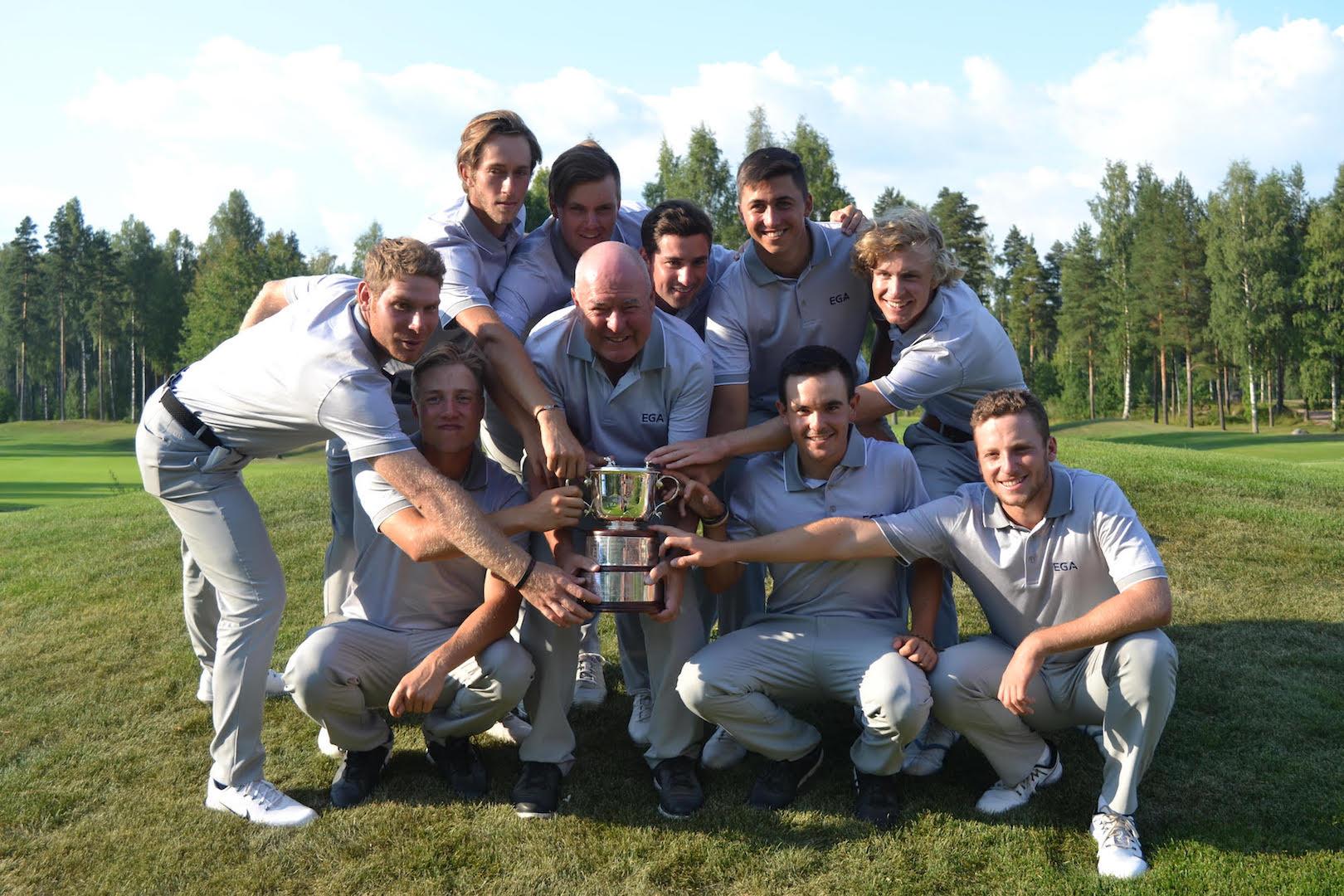 Linna Golf makes its mark on Europe's leading amateur golfers