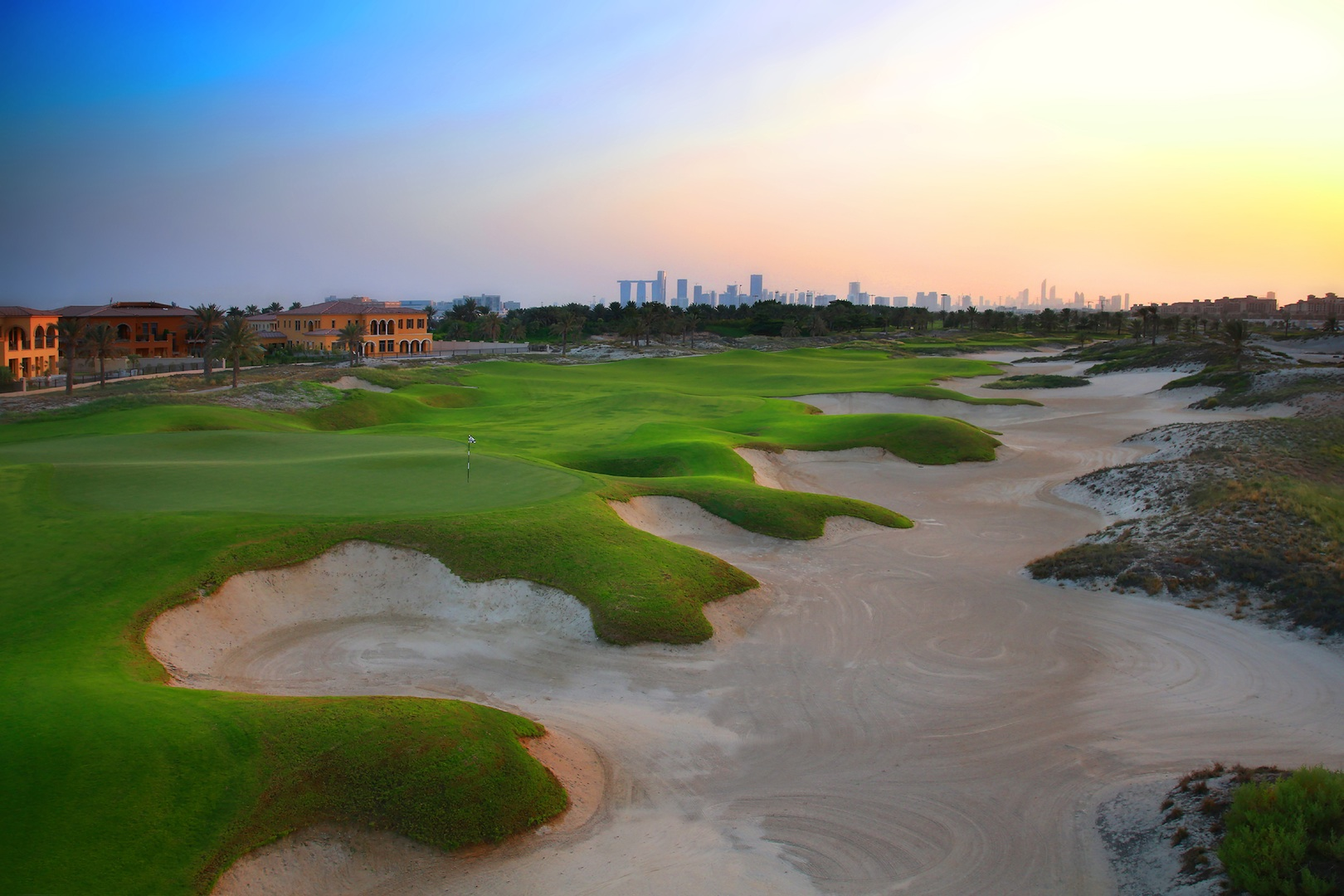 GolfPorn: Saadiyat Beach Golf Course, Abu Dhabi