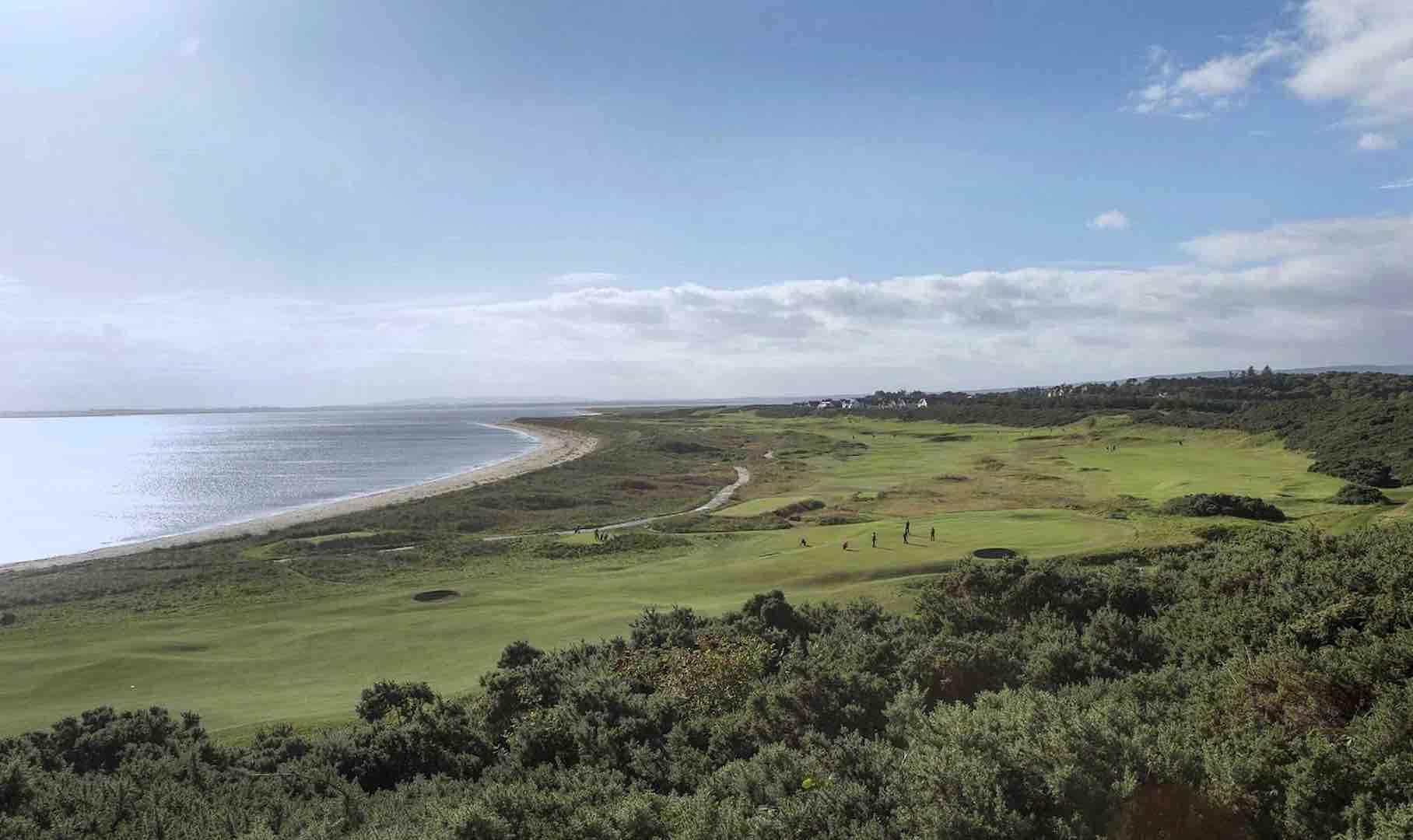 Royal Dornoch prepares to welcome international golf event