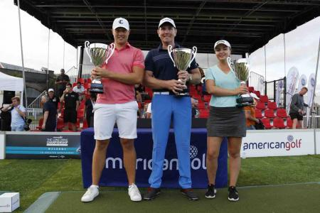 American Golf crown UK and Ireland Long drive champions