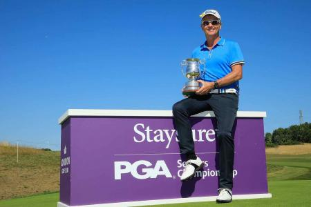 Philip Golding wins the Staysure PGA Seniors Championship