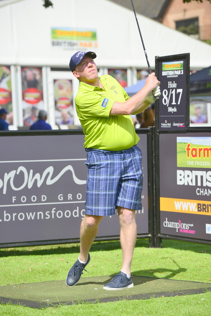 Football legend wins Farmfoods British Par 3 Championship Celeb-Am