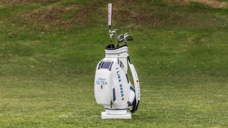 The Ultimate golf bag... from Michelob