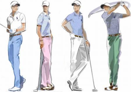 Polo Ralph Lauren Golf reveal Justin Thomas scripting
