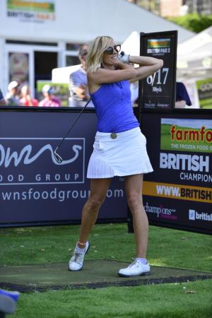 TV star Jenni Falconer on her new-found love for golf