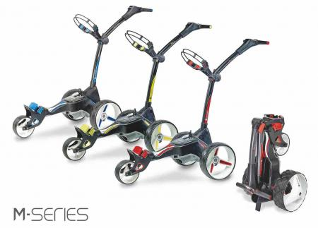 Motocaddy launches hi-tec M-series videos