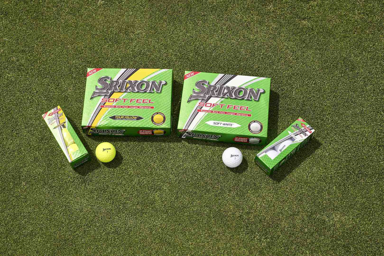 Srixon introduces the new soft feel golf ball