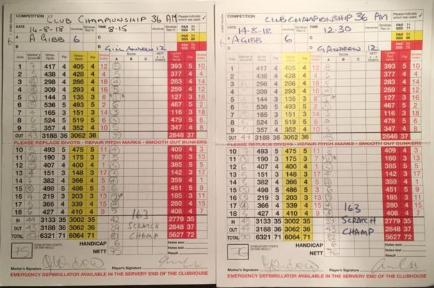 Golfer makes three hole in ones in five hours!