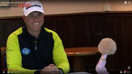 Graeme Storm drops 'f'-bomb live on Tour coverage