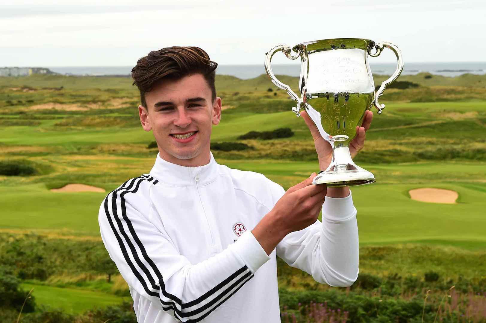 Stoke Park's Gough wins national amateur title