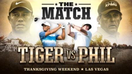 Tiger Woods v Phil Mickelson It's On!