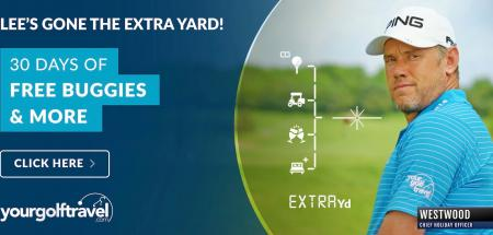 Your Golf Travel and Lee Westwood go the extra mile