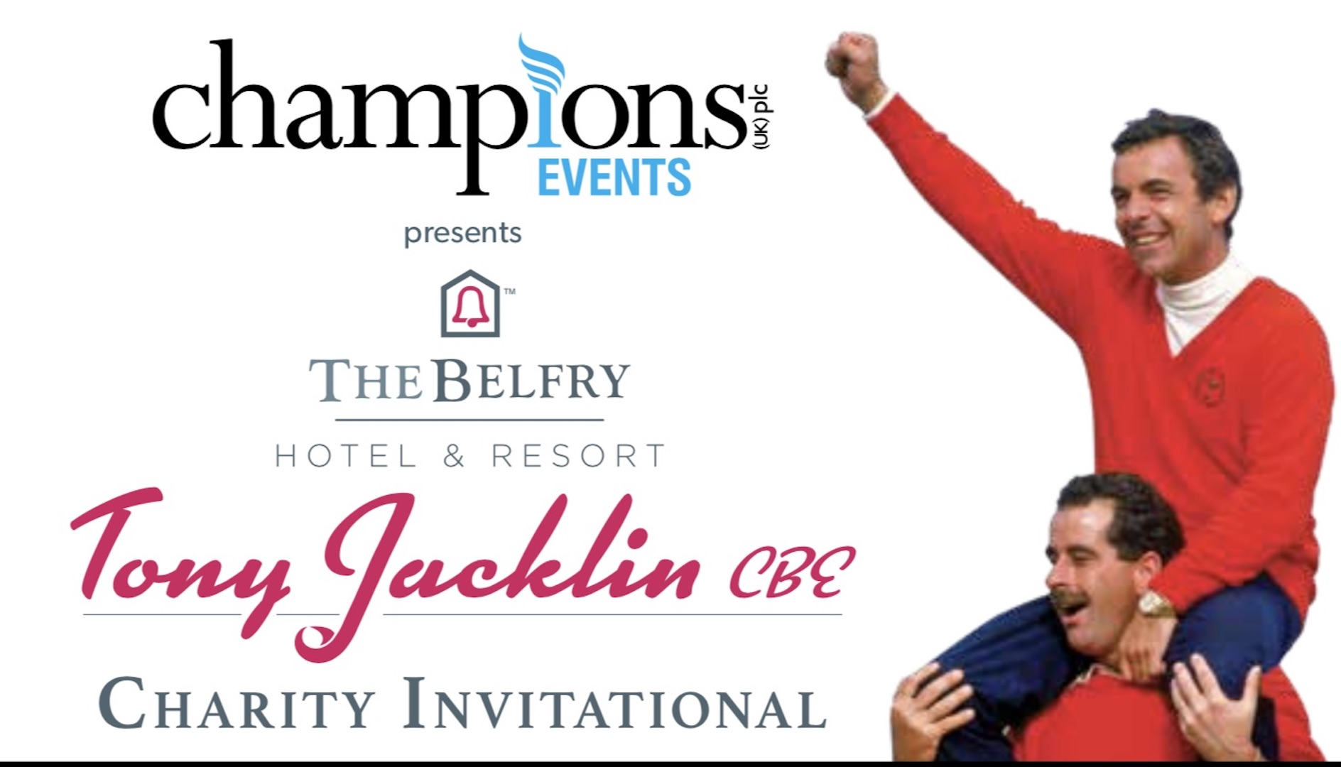The Belfry welcomes back legendary Ryder Cup captain Tony Jacklin