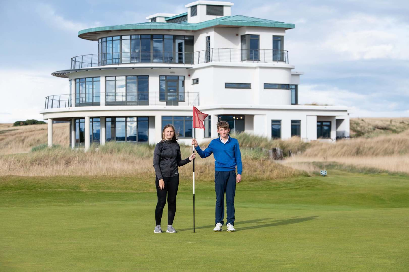 Young golfers chosen to play at Castle Stuart