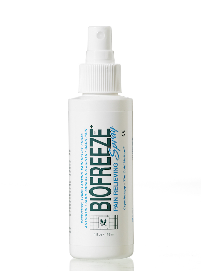 Get some Biofreeze on your golf strains