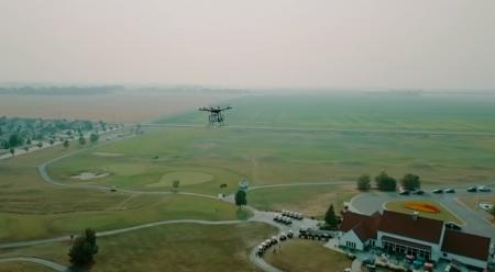 Sensational! Delivery drones for golf courses