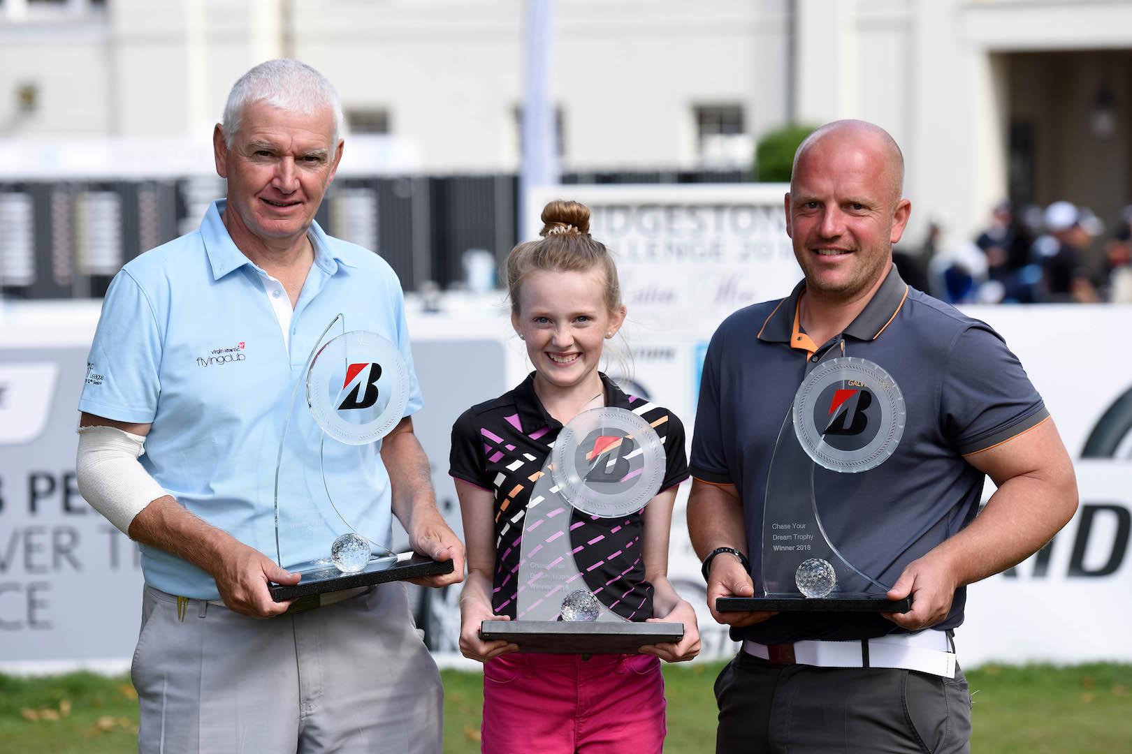 Golfing trio to realise dreams with Bridgestone at British Masters