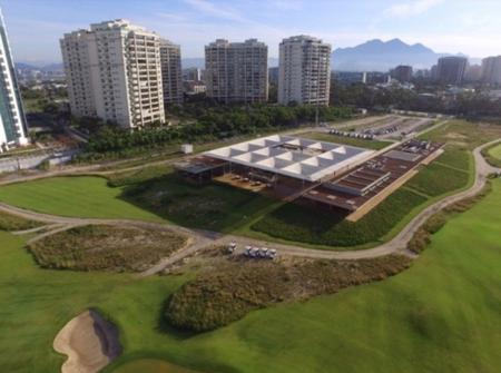 Rio's Olympic golf arena open to locals and tourists